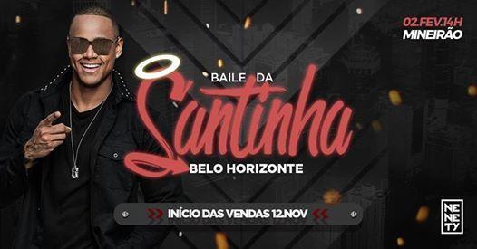 Baile da Santinha com Lo Santana