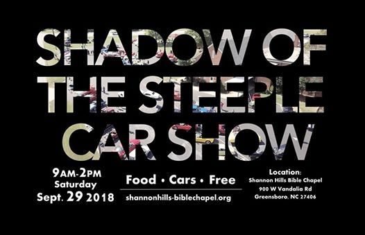Car Show At Shannon Hills Bible Chapel Carolina - Car show greensboro