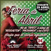 Feria de Abril 2017 - Discoteca Number One Terrassa