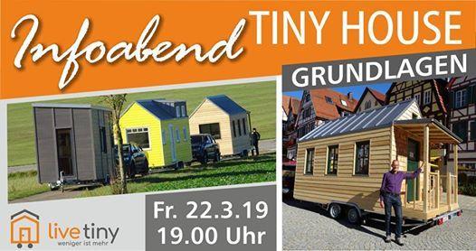 Tiny House Info-Abend Grundlagen