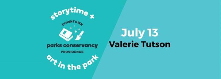 KidoInfo Storytime  Art in the Park Valerie Tutson