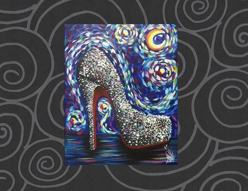 Starry Night Over Stilettos