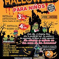 Fiesta de Halloween para nios