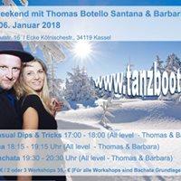 Bachata Weekend mit Thomas Botello Santana und Barbarita Rojas