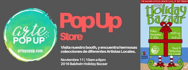 Arte pop up at 2016 holiday bazaar baldwin school guaynabo for Rio grande arts and crafts festival 2016