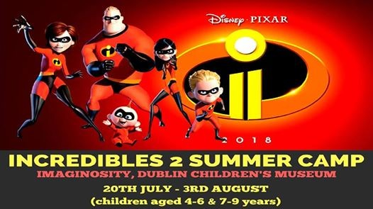Imaginosity Incredibles 2 Summer Camp