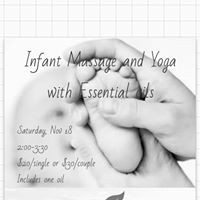 Infant Massage and yoga with YL essential oils