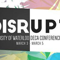 12th Annual UW DECA Conference - Disrupt