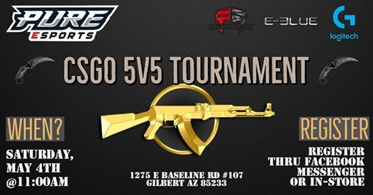 CSGO 5V5 Tournament Season 3 at PURE Esports Arena, Gilbert