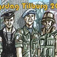 Koningsdag Tilburg met Veteranen