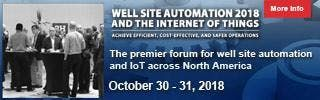 The North American Well Site Automation 2018 Exhibition and Conference