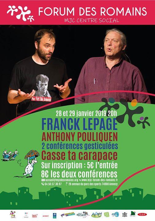 Franck Lepage Anthony Pouliquen