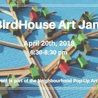 BirdHouse Art Jam
