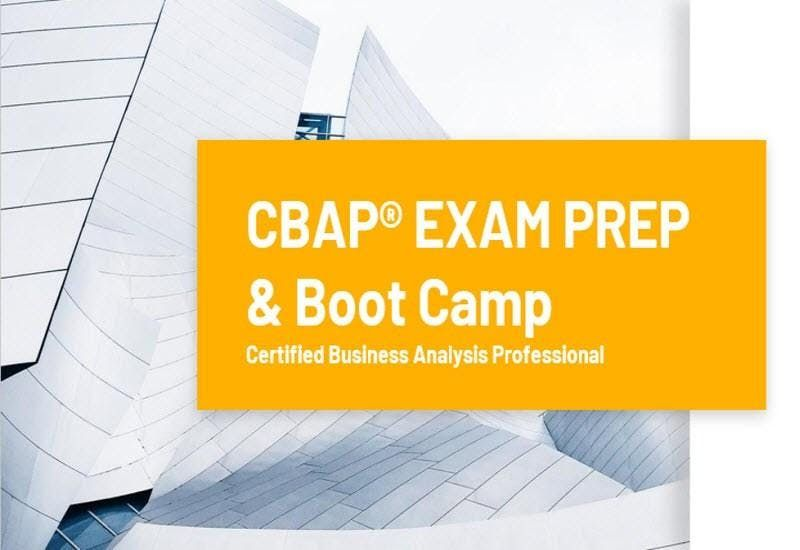 CBAP Certification Training Course Toronto, ON | CBAP Exam