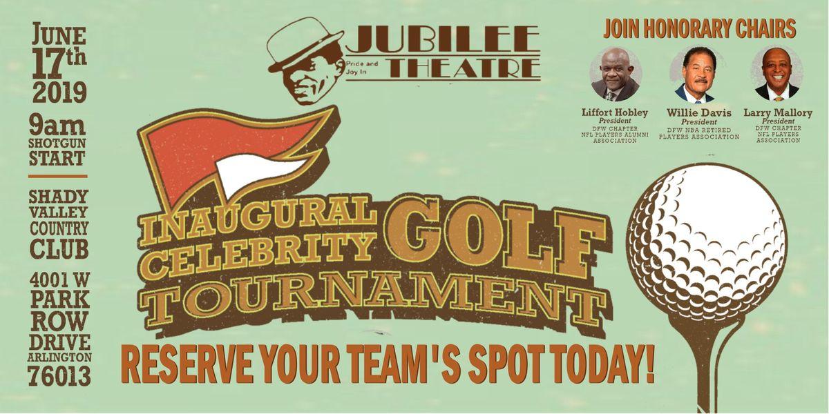 Jubilee Theatres Inaugural Celebrity Golf Tournament