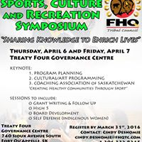 1st Annual FHQTC Sports Culture and Recreation Symposium