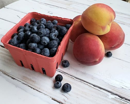 GritsAndGouda com on Good Day Alabama: Blueberry Peach
