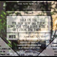 Yoga on The New New Age Farm