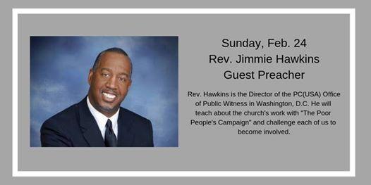 Rev. Jimmie Hawkins