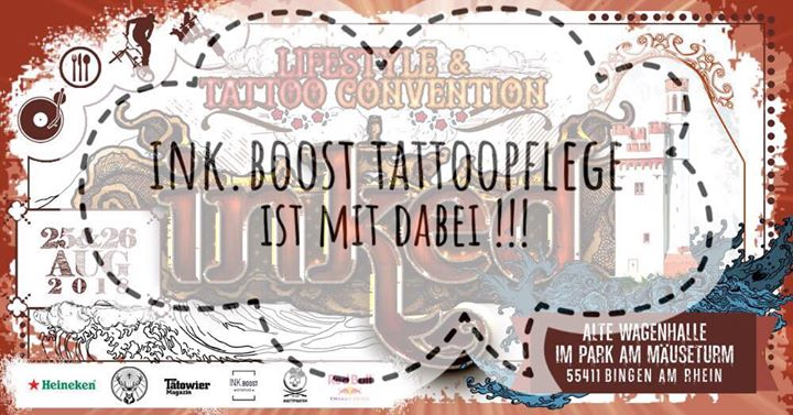 INK.Boost auf der INKED Lifestyle & Tattoo Convention Bingen