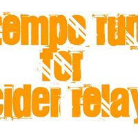 Tempo Run For Cider Relay 2018