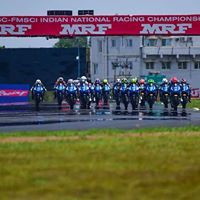 MMSC FMSCI Indian National Motorcycle Racing Championship 2016 Round-5