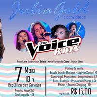 SHOW  Julia Gold e convidados The Voice KIDS