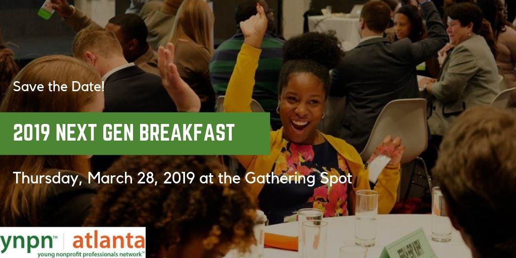 YNPN Atlantas Sixth Annual NextGen Breakfast