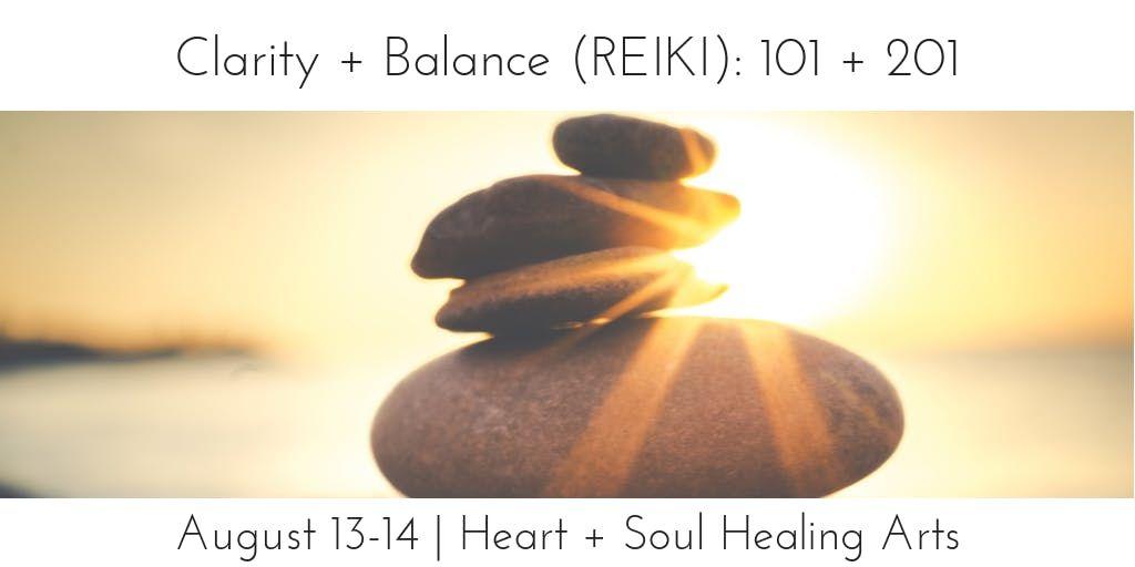 Clarity  Balance 101201 (Reiki 1 & 2)