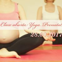 Clase Abierta de Yoga prenatal