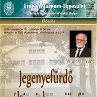 Wanek Ferenc Jegenye-frd mltja jelene jvje
