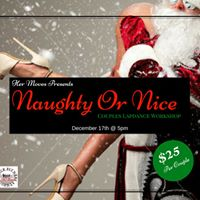Naughty Or Nice Couples Lapdance Workshop
