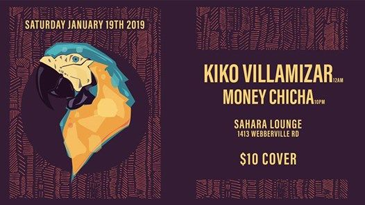 Money Chicha & Kiko Villamizar at Sahara Lounge