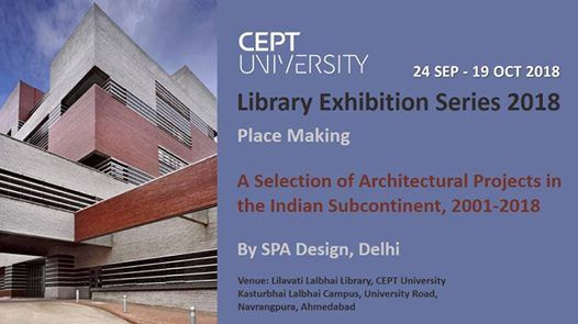 Library Exhibition Series 2018 Place Making