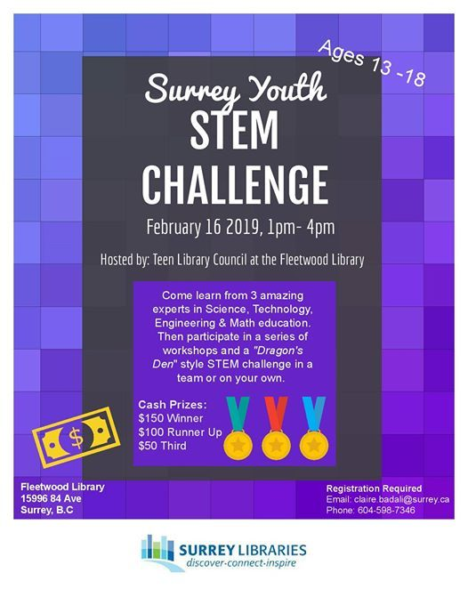 Surrey Youth STEM Challenge