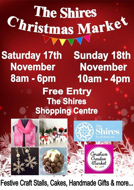 the shires christmas market