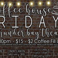 Coffeehouse Friday at Thunder Bay Theatre Charles Madison