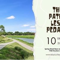 The Paths Less Pedaled - Exploring Houston Bike Paths