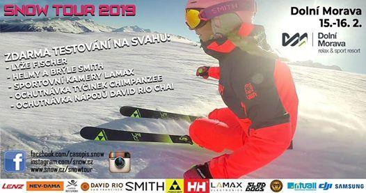 SNOW tour 2019 - Doln Morava