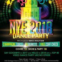 NYE 2018 VIDEO DANCE PARTY  Menz &amp Mollyz Bar