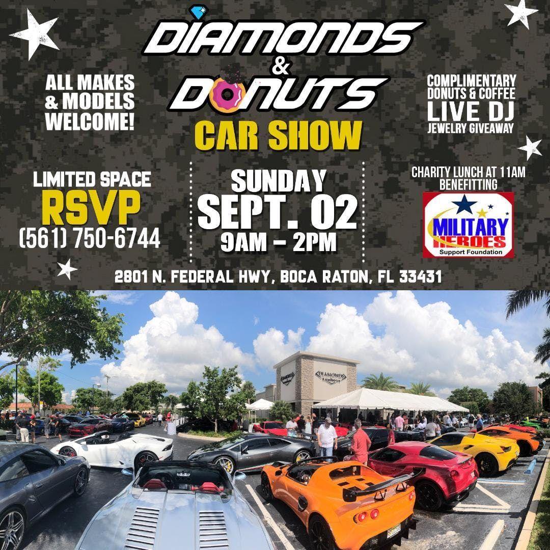 Diamonds Donuts Car Show Boca Raton - Boca raton car show