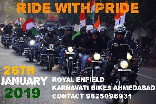 Republic Day City Ride Ahmadabad