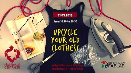 UPcycle your old clothes May 2019