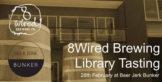 8Wired Library Tasting