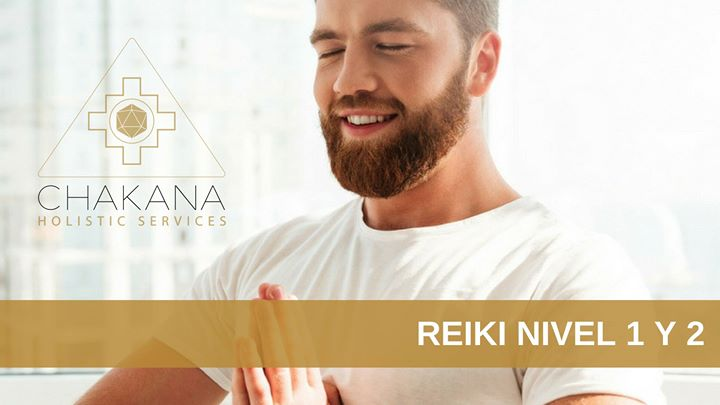 Clase de Reiki Nivel 1 y 2 (Mircoles 21 y 28)