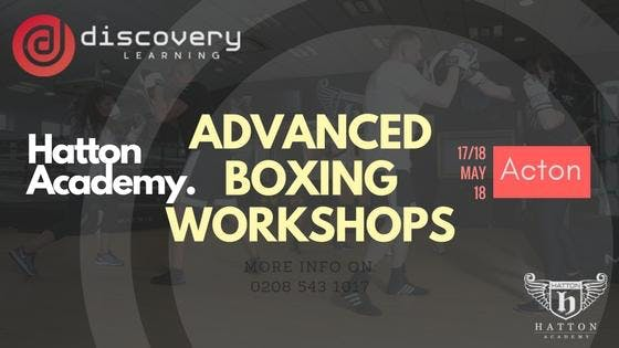 DL x The Hatton Academy Advanced Boxing Workshops