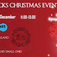 Starbucks Winter Wonderland Christmas EVENT