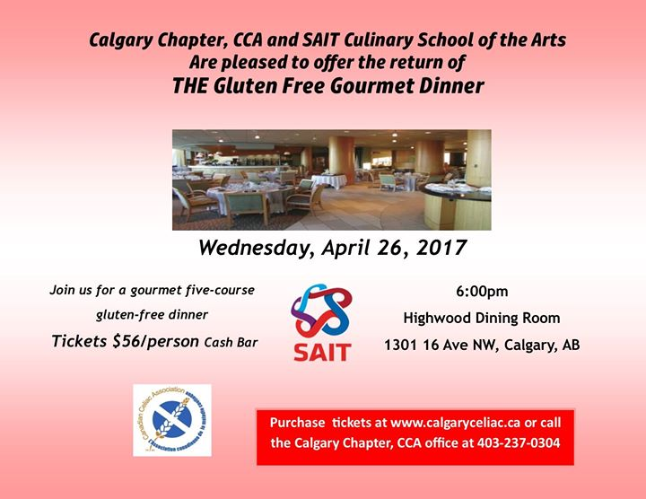 gourmet gluten free dinner at the highwood dining room at sait