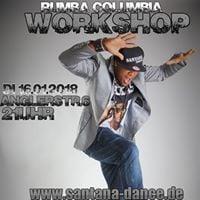 Rumba Columbia Workshop mit Maikel Santana