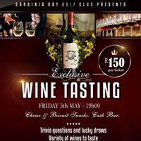 Sardinia Bay Golf Club Wine Tasting